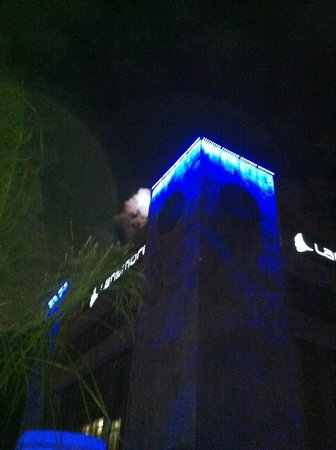 Masa Square Hotel : Night view