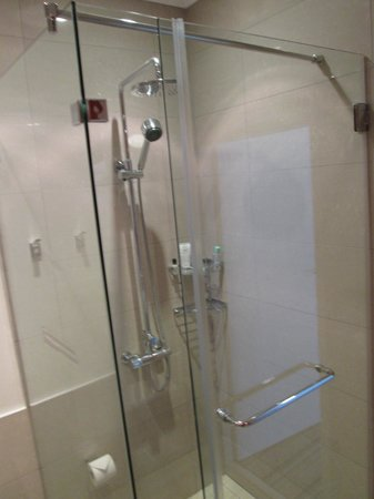 Masa Square Hotel : Shower