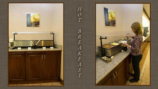 BEST WESTERN Inn & Suites: Breakfast Setup