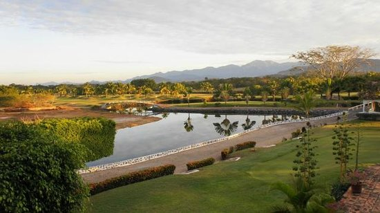 Marina Ixtapa Golf Club : VIEW FROM CLUBHOUSE