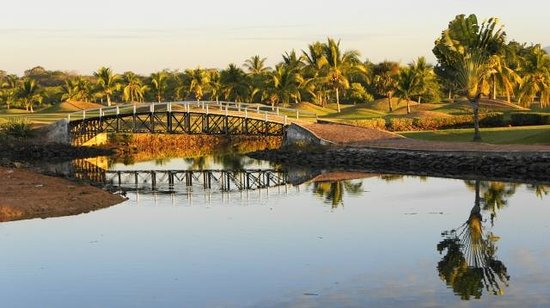 Marina Ixtapa Golf Club : BRIDGE HOLE #1