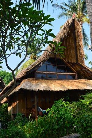 Santai Hotel Bali: Unser Bungalow