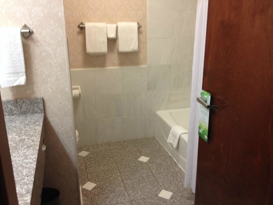 Drury Inn & Suites West Des Moines: Nice bathroom with lots of room