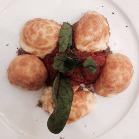 Poncelet Cheese Bar : Falsos gñoquis