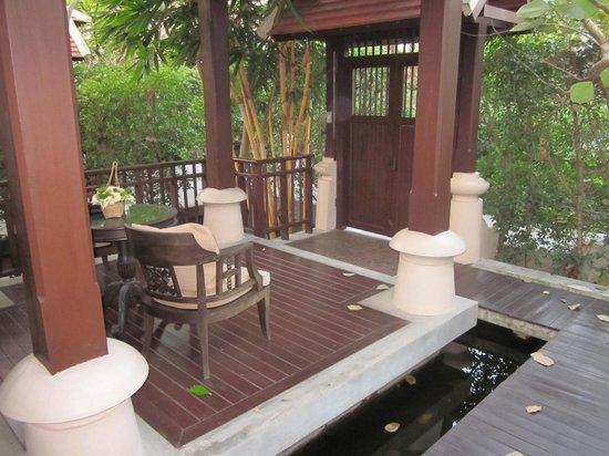 Siripanna Villa Resort & Spa: Patio