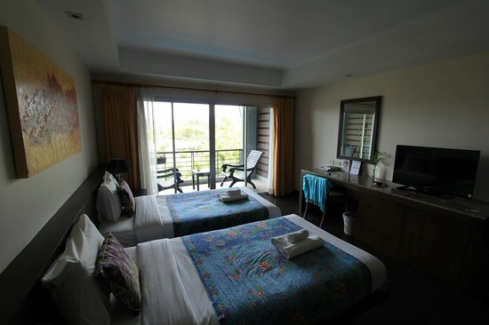 Baan Suwantawe: Twin Bed Zimmer