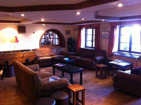 Au Coq de Bruyere Hotel : Lounge