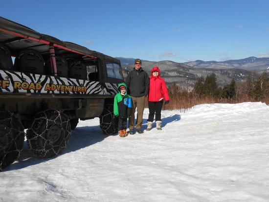 Alpine Adventures Outdoor Recreation: Alpine Adventures Pinzgauer tour.