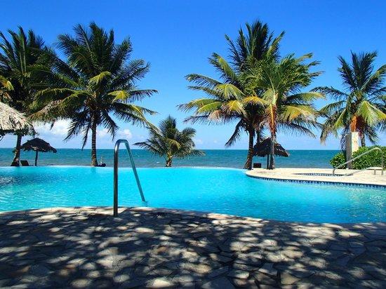 Almond Beach Resort Pool Overlooking Ocean