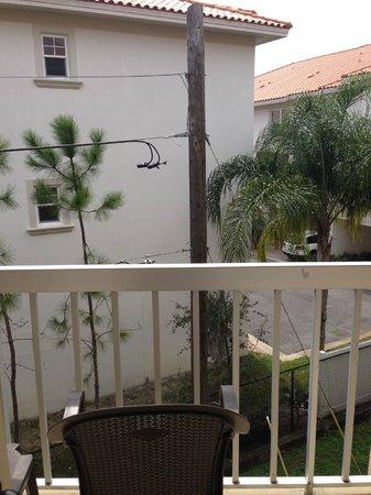 "Beso Del Sol Resort: ""garden view"" of a pole"