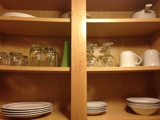 Beso Del Sol Resort: stocked cabinets