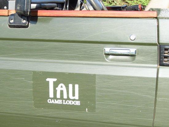 Tau Game Lodge : Van