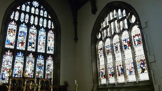Bangor Cathedral: Stained Glass Windows