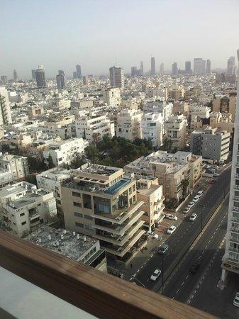 Herods Tel Aviv : view from the room