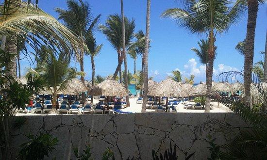 Grand Bahia Principe Punta Cana: Vista para a Praia
