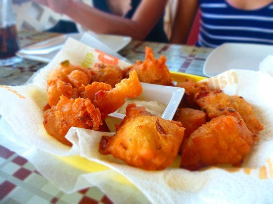 Chez Leandra : Conch fritters