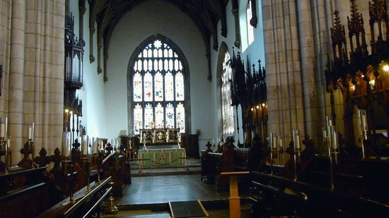 Bangor Cathedral: General Inside View