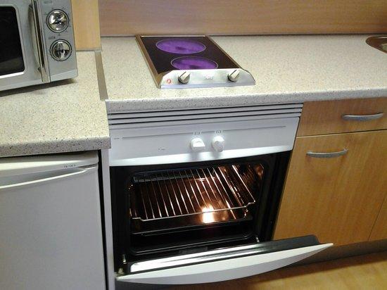 Tryp Madrid Airport Suites: Cucina