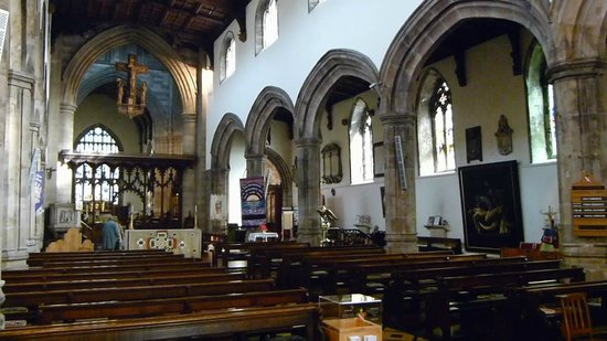 Bangor Cathedral: Inside View