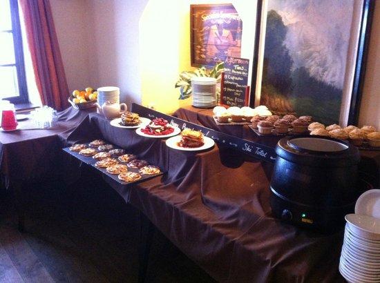 Au Coq de Bruyere Hotel : pancake day