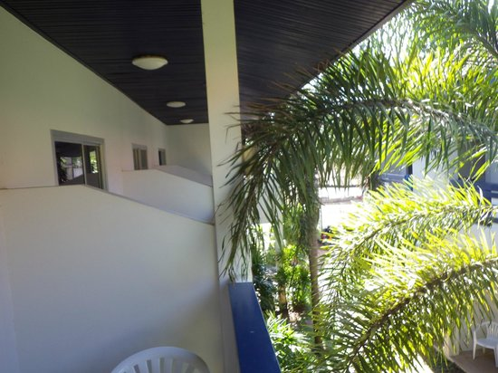 Maphrao Resort on the Beach: vue du balcon