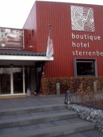Hotel de Sterrenberg: entree van het hotel