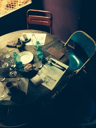 Bar del Fico : Dettaglio tavolo