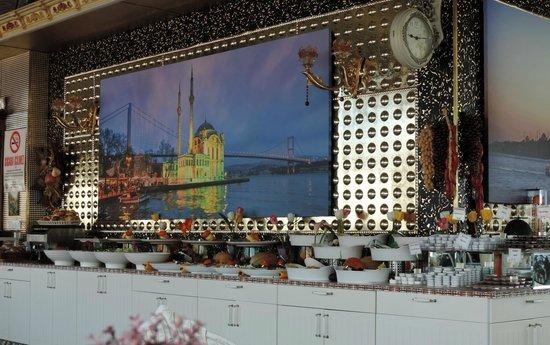Marmaray Hotel : Buffet colazione