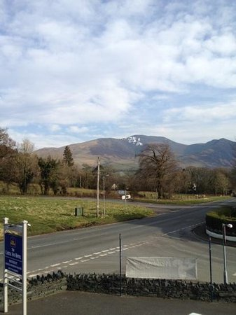 Best Western Plus Lake District, Keswick, Castle Inn Hotel: Room with a view