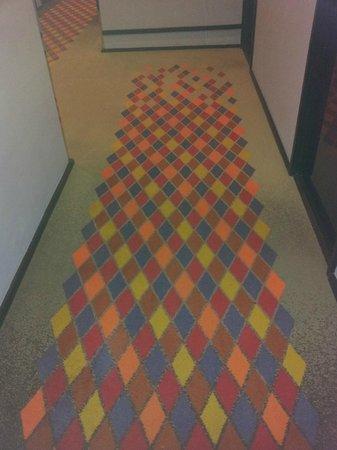Tivoli Hotel: Teppich