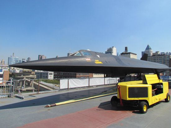 Intrepid Sea, Air & Space Museum: SR71 Black Bird