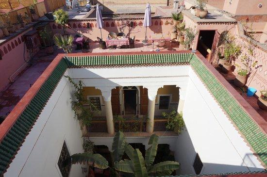 Riad Ker Saada: vue de la terrasse