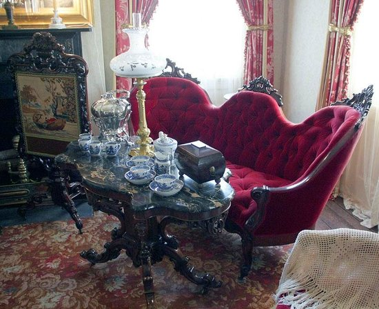 Rosedown Plantation State Historic Site: Sitting Room