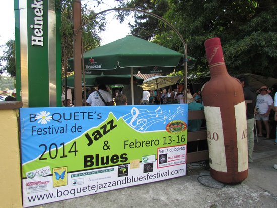 El Oasis Hotel & Restaurant : The Boquete Jazz & Blues Festival in mid-February is outstanding:  a must-see, must-do experienc