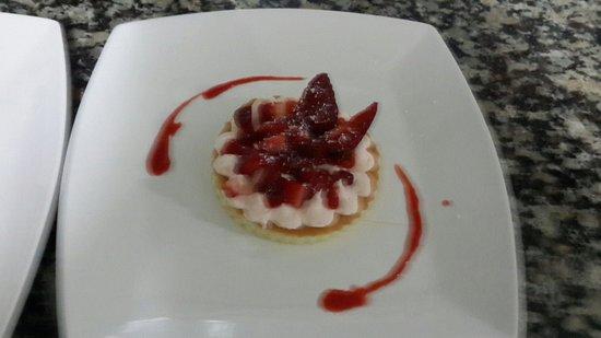 Le Chrysalis: Gâteau au fraise