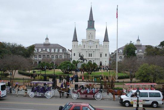 Historic New Orleans Tours: Jackson Square