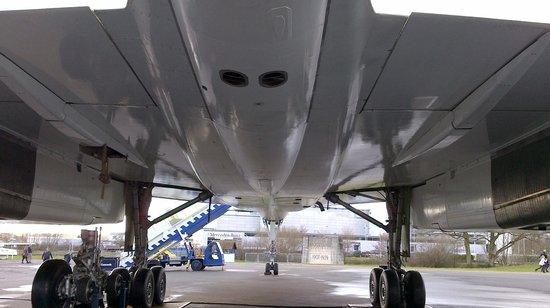 Brooklands Museum: Underneath Brooklands Concorde