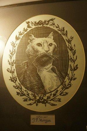 The Cat Cabinet: А это Дж. П. Морган