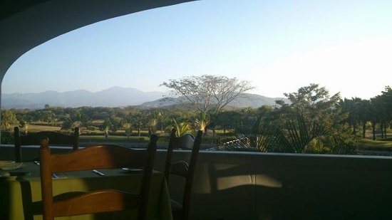 Marina Ixtapa Golf Course Restaurant: VIEW FROM YOUR TABLE