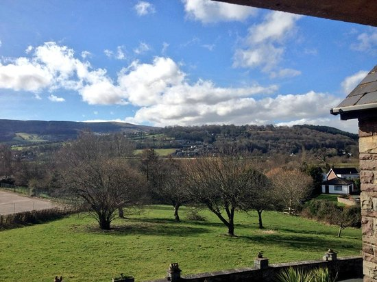 Porth-y-Berllan : View from room 2
