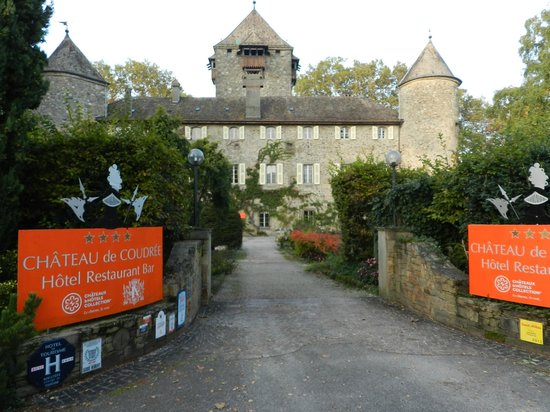 Chateau de Coudree: le chateau