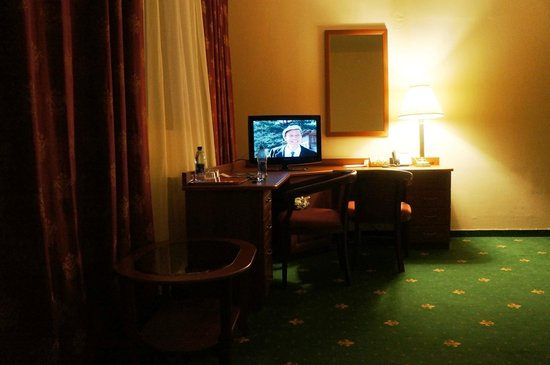 Hotel Park Krestovskiy: кусочек номера