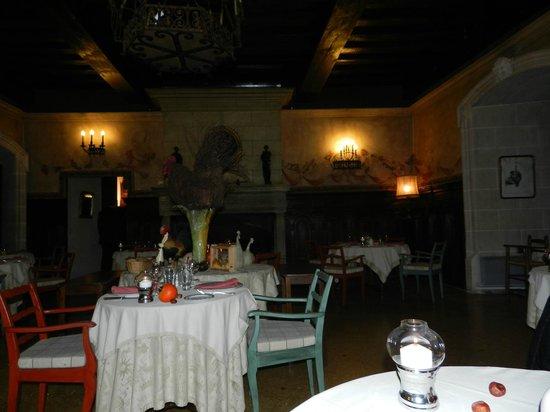 Chateau de Coudree: salle