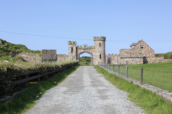 Clifden Castle : Entrance