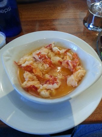 Lepage's Seafood & Grille: Lobster saute.  Delicious.