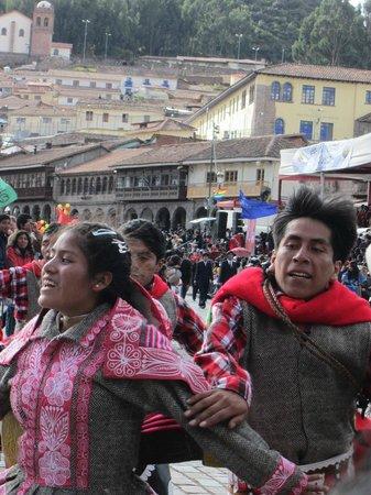 Orquidea Real Hostal: Inti Raymi Festival
