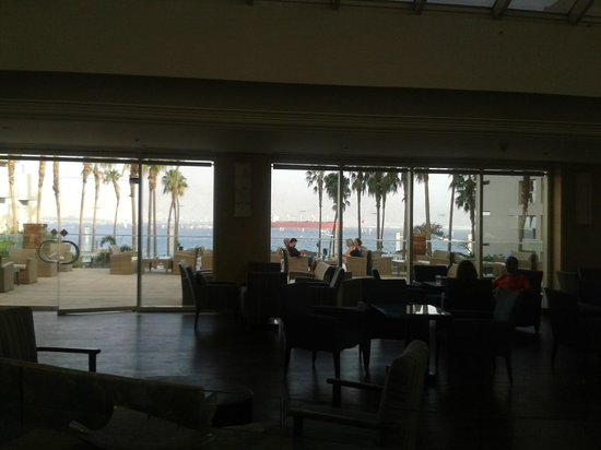 U Suites Eilat : the view from the reception