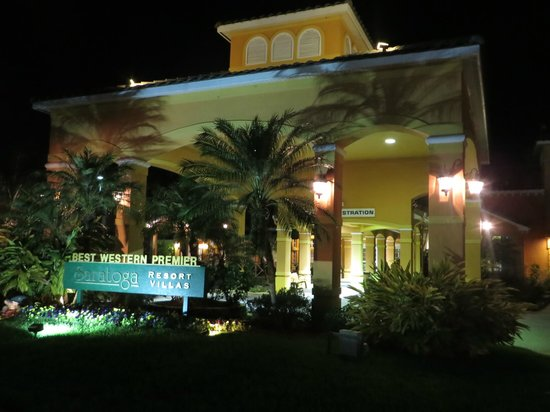 Best Western Premier Saratoga Resort Villas: Main Building