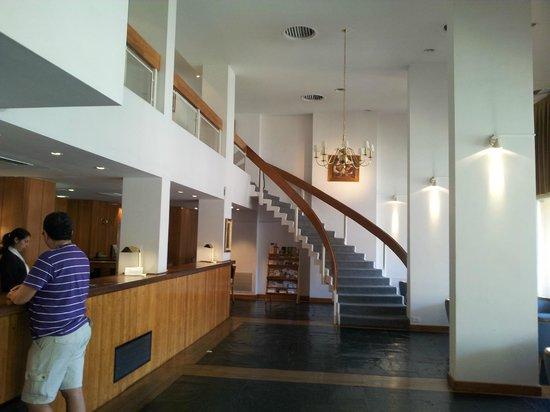 Hotel Libertador: Camino al desayuno