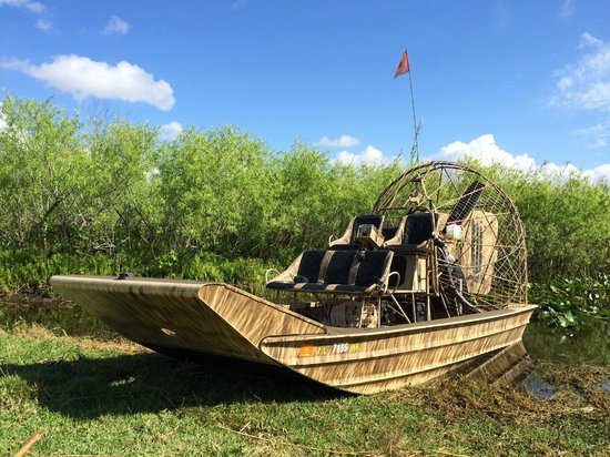 Fort Lauderdale Airboat Adventure: Capt. Shawn's Airboat